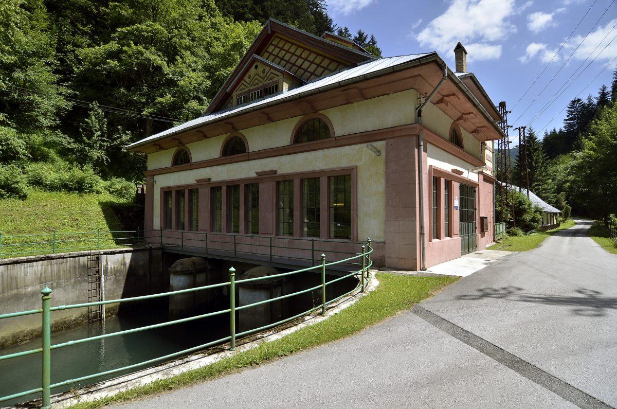 budova elektrárne