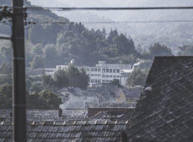 Papiereň v Slavošovciach