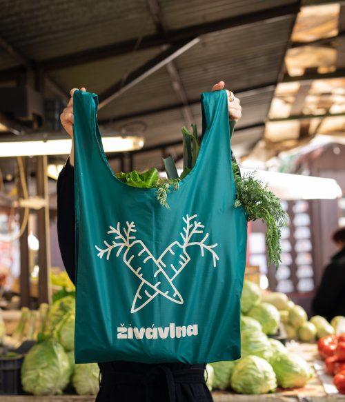Nákupná taška živávlna