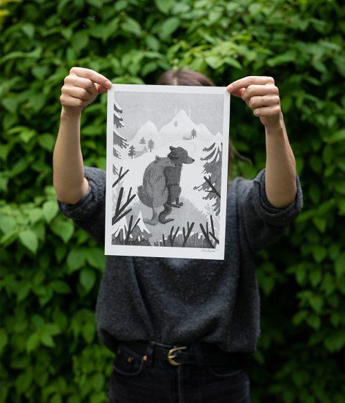 Vĺčkovia risografika