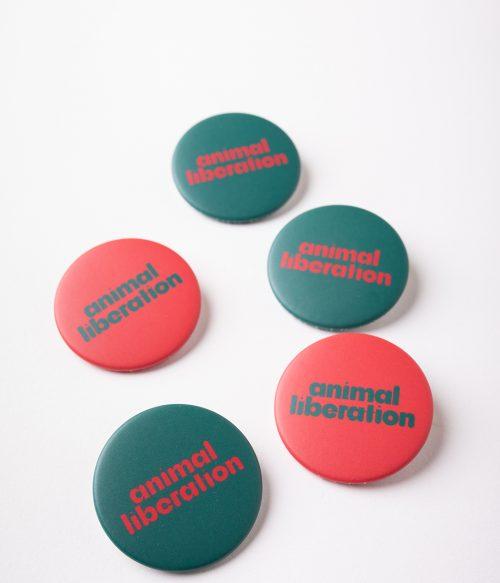 Odznaky Animal liberation