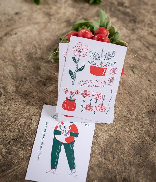 Pohľadnica Rastliny