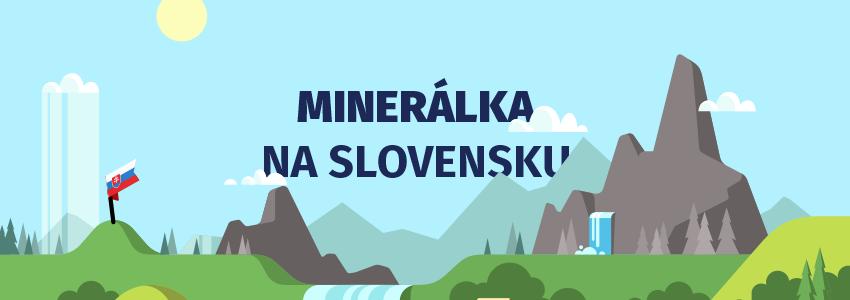 infografika mineralky na slovensku