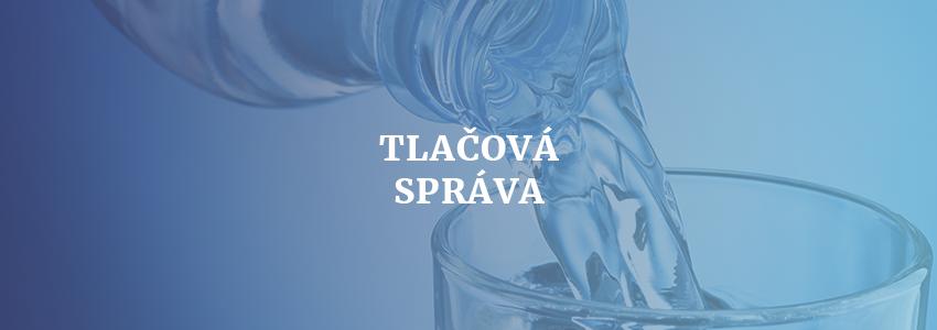 AVNM podporuje pitným režimom športovcov v Michalovciach