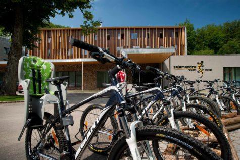 Hotel Salamandra - bicykle