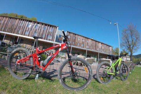 Cykloturistika - Salamandra hotel resort