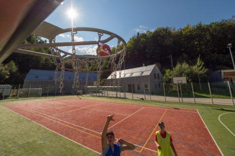 basketbal Salamandra hotel a resort