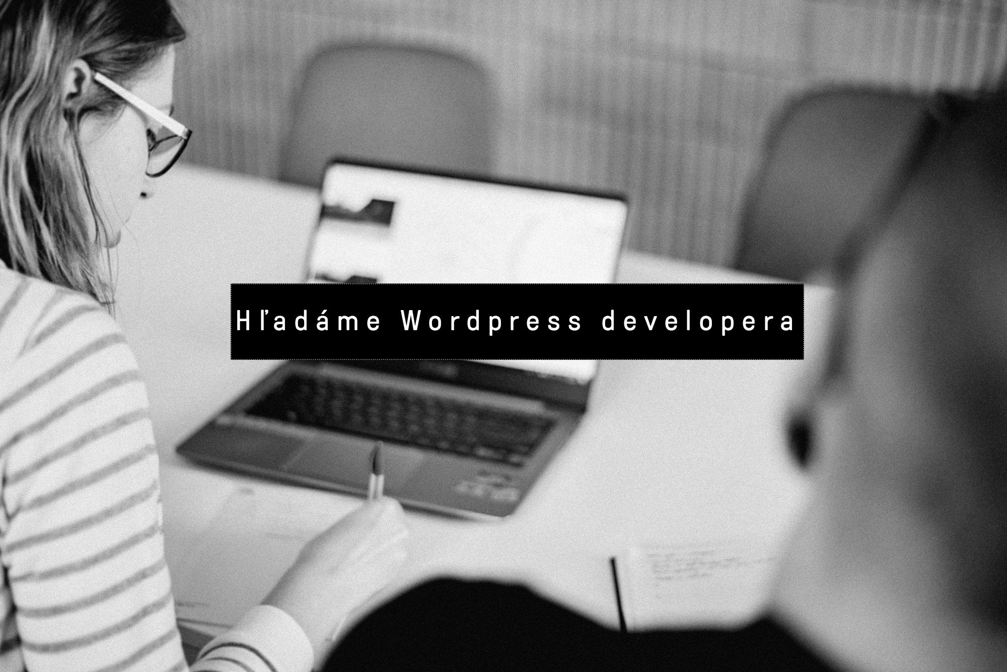 Hľadáme WordPress developera.