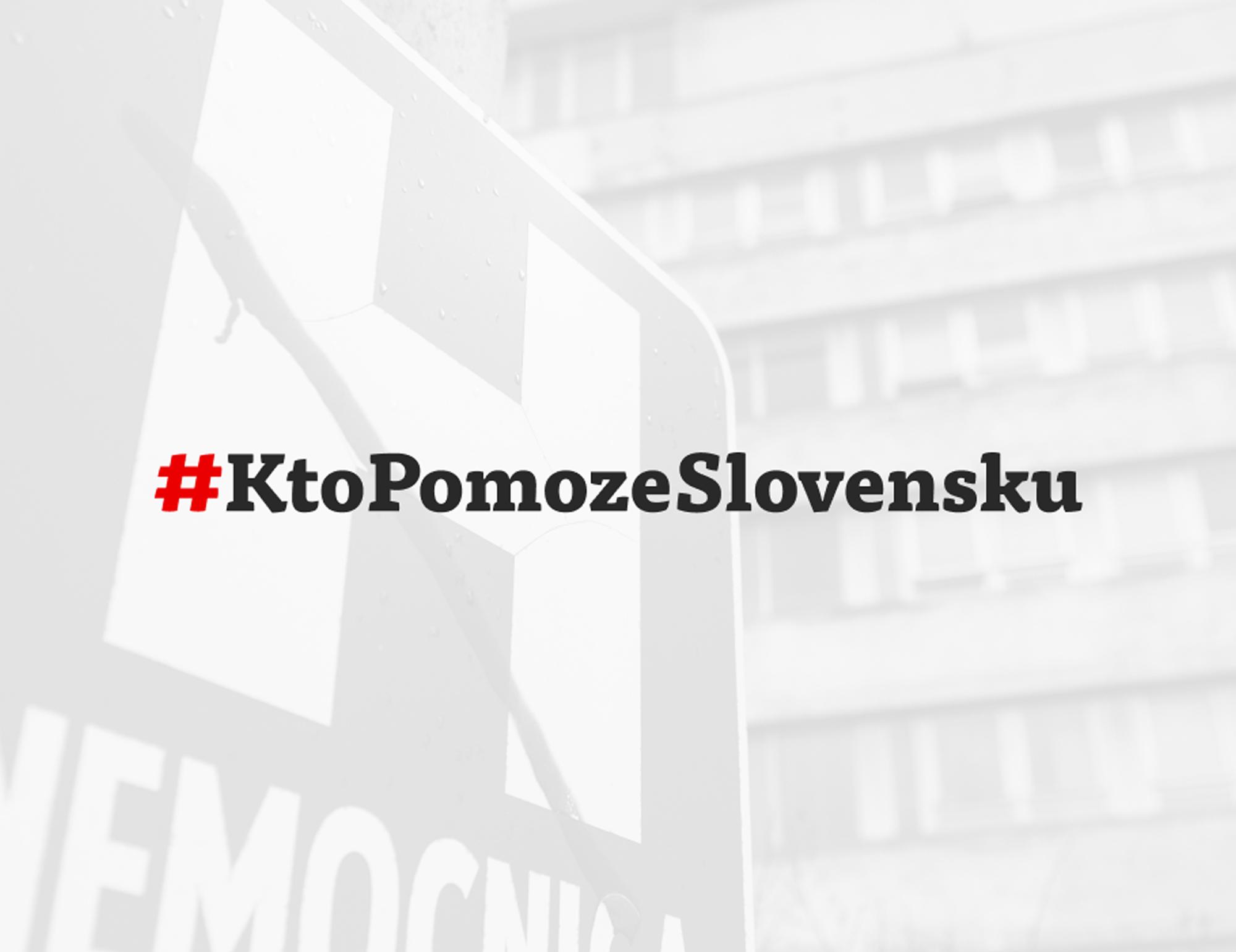 Iniciatíva #KtopomozeSlovensku