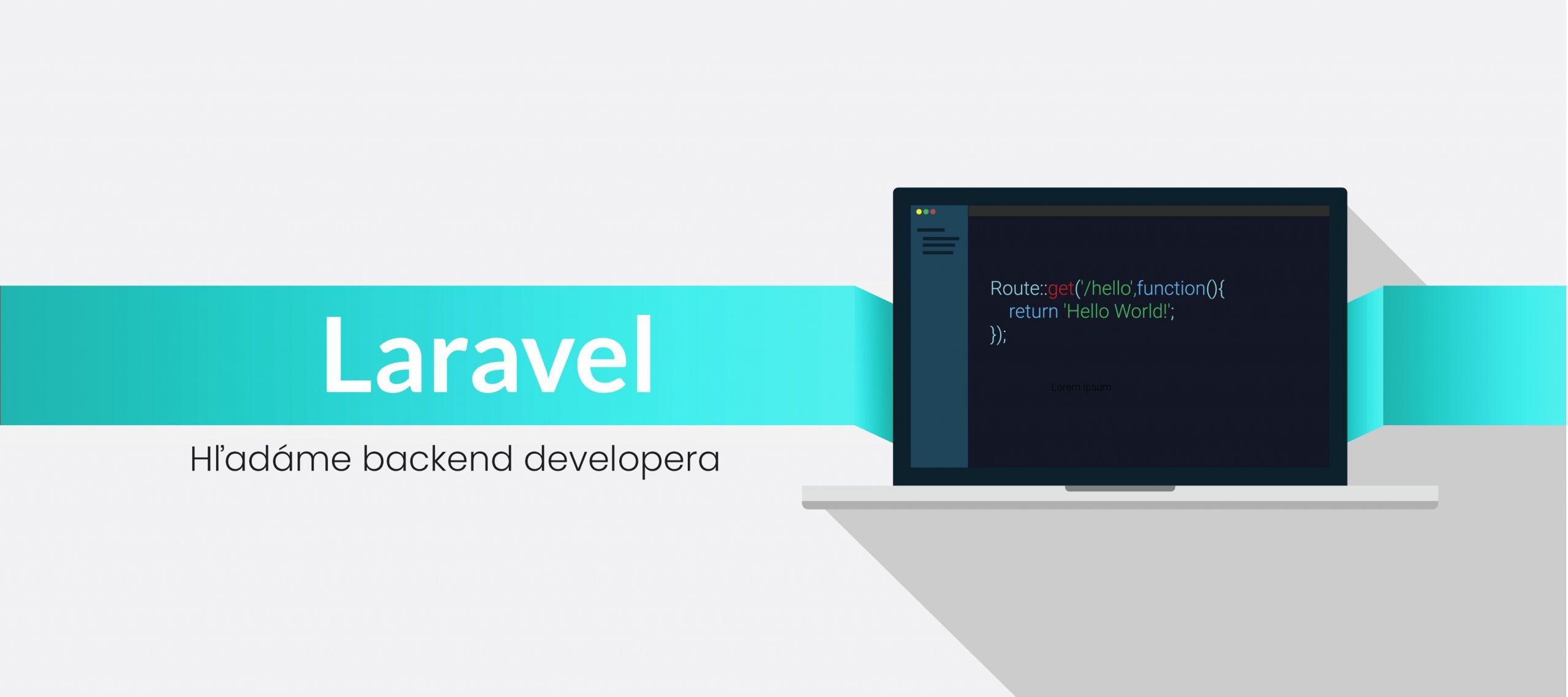 Hľadáme PHP backend developera